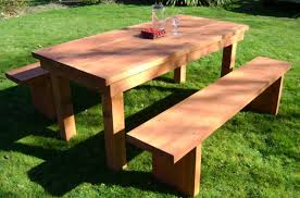 Plans For Wood Patio Table by Furniture Outdoor Furniture Designs Stunning Wood Patio