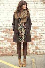floral dress tights booties and a coat 25 tips for turning