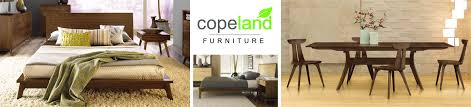 copeland furniture modern bedroom u0026 dining furniture made in usa