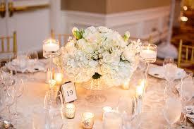 hydrangea centerpiece white hydrangea and centerpiece elizabeth designs the
