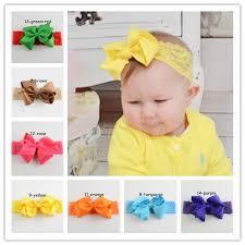 headbands for baby lace headbands big ribbon bows hair bow with soft headbands