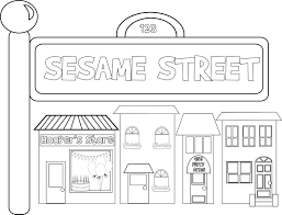 sesame street coloring pages pdf alphabet free printable