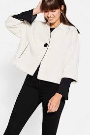 esprit ravishingly retro bouclé jacket at our online shop