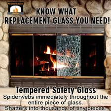 fireplace door glass replacement what u0027s the difference between tempered and ceramic glass