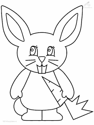 rabbit coloring pages getcoloringpages