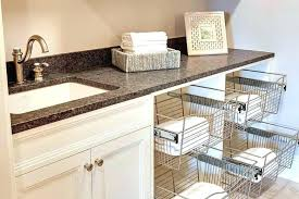 pull out baskets for bathroom cabinets pull out laundry basket drawer laundry basket pull along laundry