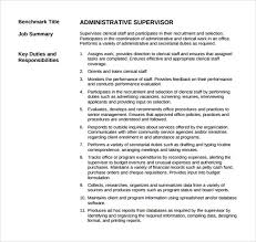 supervisor resume exles sle supervisor resume 12 free documents in pdf word