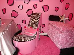 pink zebra teen girls room design interior wallpaper playuna