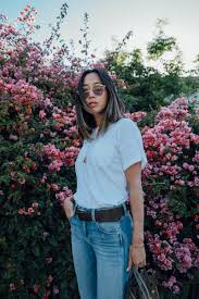 Real Comfortable Jeans Blue Jeans And White Tee Song Of Style