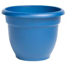 self watering plastic planters pots u0026 planters the home depot