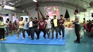 ceu makati christmas party 2011 rainbow rack game youtube