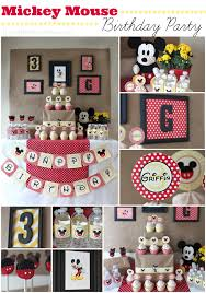 mickey mouse birthday party ideas mickey mouse birthday party ideas griffin turns three of