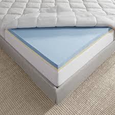serafina pearl gel memory foam mattress topper u2013 novaform