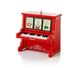 caroling piano 2013 hallmark ornament home