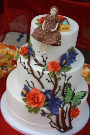 the good apple fall baby shower cake