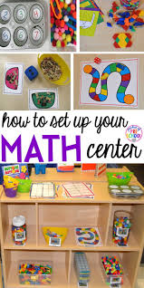Pre K Classroom Floor Plan How To Set Up The Math Center In An Early Childhood Classroom