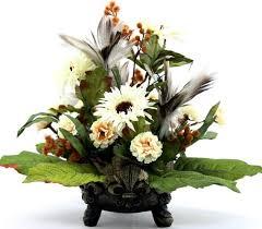 coffee table floral arrangements elegant silk flower arrangements www etsy com listing