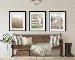country decor farmhouse decor rustic home decor set of 3