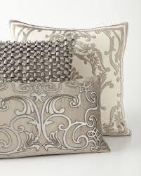 Linen Covers Gray Print Pillows White Walls Grey Decorative Pillows Throw Pillows Pillows And Throws Horchow