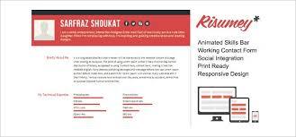 41 html5 resume templates u2013 free samples examples format