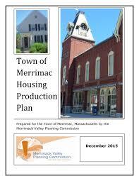 Housing Plan Housing Neighborhood Planning Merrimack Valley Planning Commission