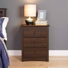 espresso finish nightstands u0026 bedside tables for less overstock com