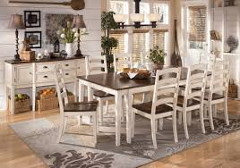 White Dining Room Chairs Dining Room Beautiful Contemporary Dining Table And Chairs White