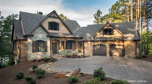 One Story House Plan by One Story Craftsman Style House Plans Hahnow