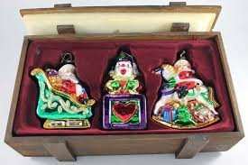 pacconi classics blown glass ornaments