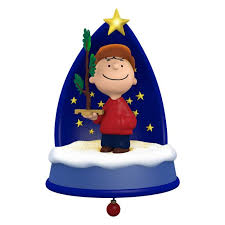 the peanuts a sign of the season ornament with light sound