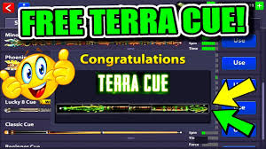 how to get the terra cue for free in 8 ball pool no cue hack