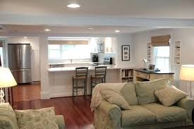 open floor plan kitchen ideas small open plan kitchen living room large size of and living room