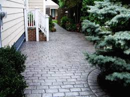 Concrete Patio Bricks Stamped Concrete Patios Mi Patio Brick Herringbone Idea For My