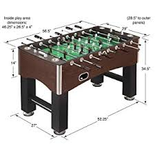 classic sport foosball table amazon com hathaway 56 inch primo foosball table family soccer