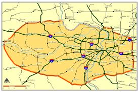 stl metro map service map