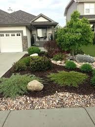 Landscape Garden Ideas Pictures Rock Garden Ideas For Front Yard Best Rock Yard Ideas On