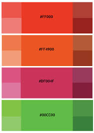 colors that go well with red analogous red session 3 color synesthesia