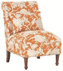 orange accent chair an accent chair in retro orange orange sofa