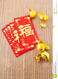 festival decorations chinese new year festival decorations on wood background stock