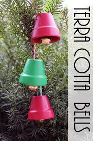 terra cotta bells diy ornaments the country chic cottage