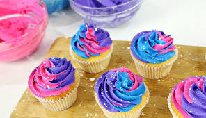 galaxy cupcakes cake style youtube