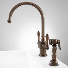 single hole faucet kitchen aiken single hole kitchen faucet with side spray single hole