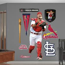 st louis cardinals yadier molina wall decals