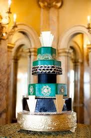 art deco wedding cakes lafete