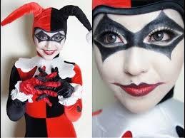 Harley Quinn Halloween Costume Diy 13 Harley Quinn Eye Makeup Images Costume