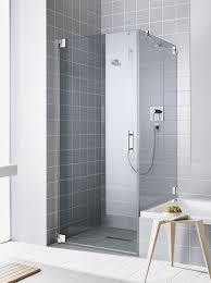 swing shower screen for alcoves corner filia kermi