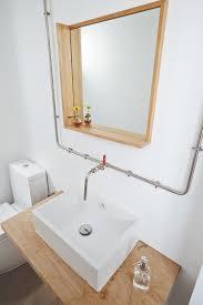 round square or long bathroom mirror home u0026 decor singapore