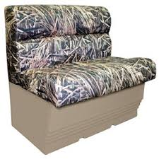 wise camouflage pontoon boat seat bench