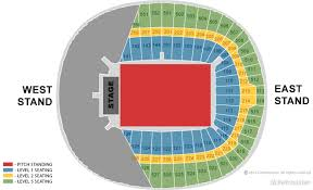 Ticketmaster Floor Plan Wembley Stadium London Events U0026 Tickets Map Travel U0026 Seating