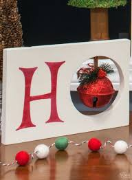 diy christmas decoration ho ho ho christmas decor dollar store